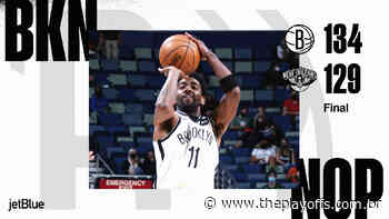 Brooklyn Nets vence New Orleans Pelicans com 15 pontos de Kyrie Irving no último quarto - The Playoffs