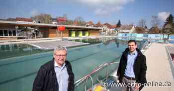 Arbeiten am Freibad in Ober-Ramstadt bald abgeschlossen - Echo Online