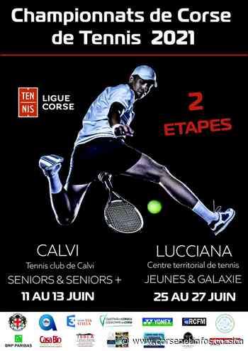 Les championnats de Corse de tennis au mois de juin à Calvi et à Lucciana ? - Corse Net Infos