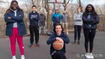 TSV Westerland: Sylter Basketballer sammeln Spenden für einen neuen Korb   shz.de - shz.de