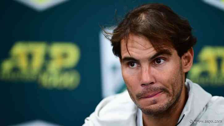 Rafael Nadal advances, Fabio Fognini defaulted at Barcelona Open tennis tournament - ESPN