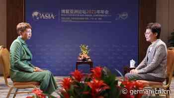 Carrie Lam: Hongkong hat jetzt unter dem neuen Gesetz Stabilität - Radio China International