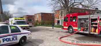 Crews evacuate person with mobility issues from King Edward Ave. fire