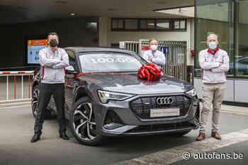 Nieuws: Audi bouwt 100.000 e-trons in Vorst - Autofans.be