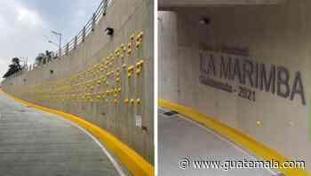 Inauguraron paso a desnivel La Marimba en Bulevar Vista Hermosa, Zona 15, Ciudad de Guatemala - Guatemala.com