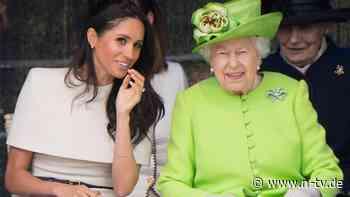Beistand vor der Beisetzung: Meghan soll mit Queen gesprochen haben