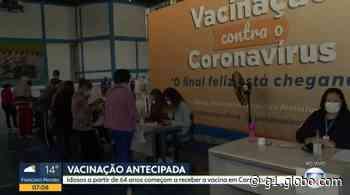 Carapicuíba e Francisco Morato antecipam vacinação contra Covid-19 de idosos com mais de 64 anos - G1