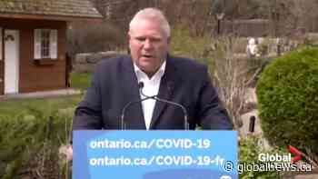 'I'm not going to stop': Doug Ford responds to growing calls for his resignation
