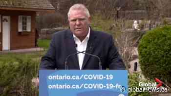 Ford apologizes for increasing police powers, closing playgrounds; says province moved 'too quick'