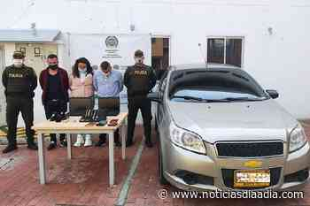 Asaltaban residencias en Subachoque, Cundinamarca - Noticias Día a Día