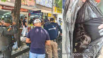 Policía interviene avenidas 6 y 7 cerca a Alejandría y le hallan a un hombre 3 kilos de cabello | La Opinión - La Opinión Cúcuta