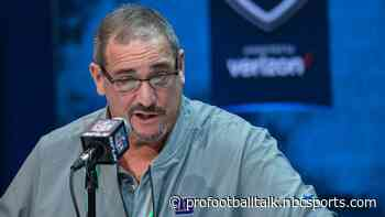 Dave Gettleman says he's tried to trade back but refuses to get fleeced