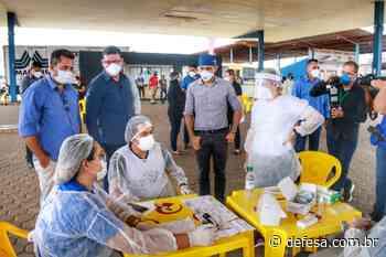 Governo de Rondônia realiza testes rápidos para covid-19 em Pimenta Bueno nesta quarta feira, 14 - Defesa - Agência de Notícias