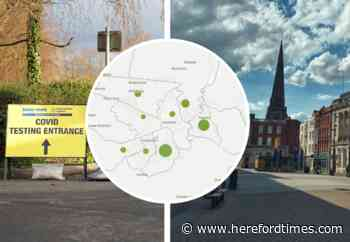 Map reveals latest Covid deaths in Herefordshire