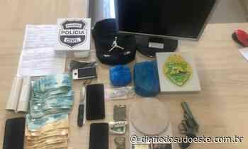 PC e PM prendem cinco acusados de tráfico de drogas em Capanema - Diário do Sudoeste