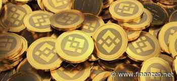 Aufholbedarf und hohe Nachfrage: Binance Coin mit massivem Kurszuwachs - finanzen.net