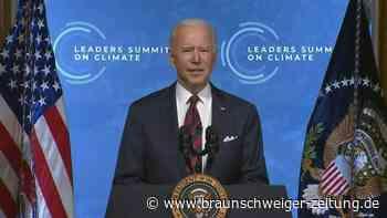 Biden verkündet ehrgeizigere Klimaziele und ruft Welt zum Mitziehen auf