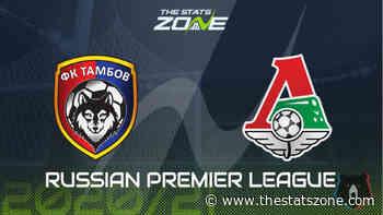 2020-21 Russian Premier League – Tambov vs Lokomotiv Moscow Preview & Prediction - The Stats Zone