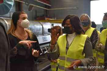Depuis Joigny la ministre Elisabeth Moreno lance un appel à projets pour favoriser l'entreprenariat au féminin - Joigny (89300) - L'Yonne Républicaine