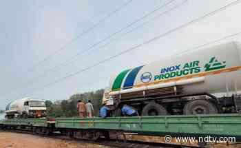 First 'Oxygen Express' Races Towards Maharashtra Amid Covid Crisis - NDTV