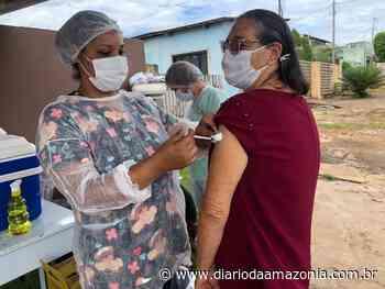 Jaru vacina mais de mil idosos contra a Covid-19 em um único dia - Diário da Amazônia