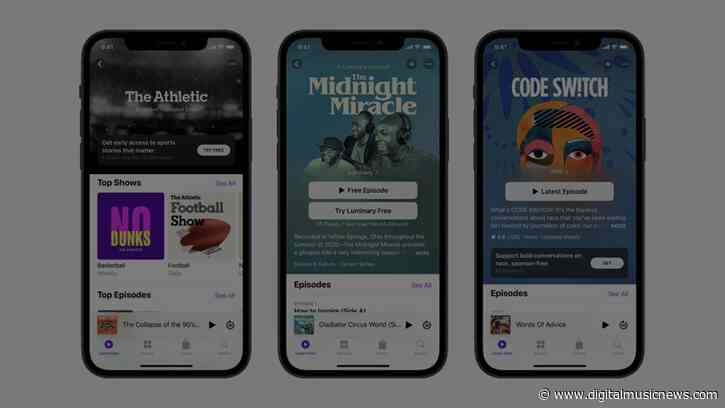 Apple Redesigns Podcasts App, Introducing Paid Podcast Subscriptions