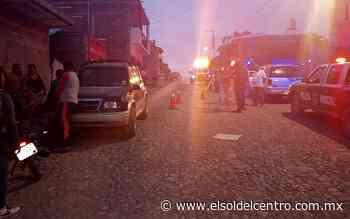 Atropellan a ancianito y se dan a la fuga en Calvillo - El Sol del Centro