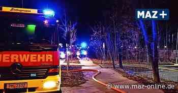 Verdacht auf Brandstiftung in Kleinmachnow, Stahnsdorf - Zusammenhang wird geprüft - Märkische Allgemeine Zeitung