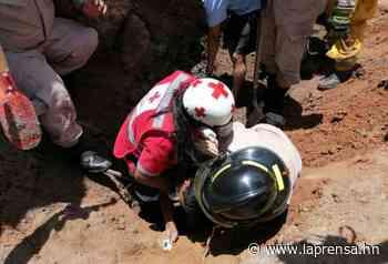 Un obrero muere soterrado en construcción de Sabanagrande - La Prensa de Honduras
