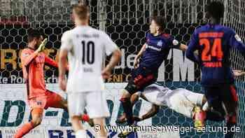 2. Liga: Pleite in Sandhausen: HSV patzt erneut im Aufstiegsrennen