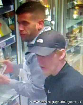 CAUGHT ON CAMERA: Police appeal over Kirklees shop theft - Bradford Telegraph and Argus