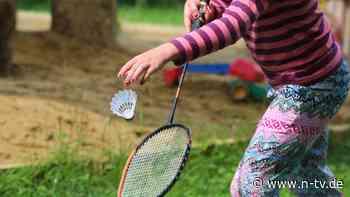 Sogar in Gruppen erlaubt: Sport von Kindern verbietet Notbremse nicht