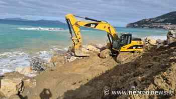 Piraino, in corso il consolidamento del litorale di Calanovella - Nebrodi News