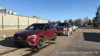 Drive-thru COVID-19 vaccination clinics open in Saskatoon, Warman - CTV Toronto
