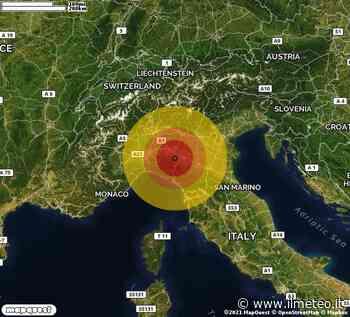 TERREMOTO in provincia di PARMA, in EMILIA ROMAGNA, a Salsomaggiore Terme. Magnitudo 2.7. Ecco QUI i DETTAGLI - iLMeteo.it