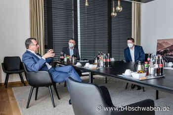 Stephan Stracke hat Multivac in Wolfertschwenden besucht - Memmingen / Unterallgäu - B4B Schwaben - B4B Schwaben