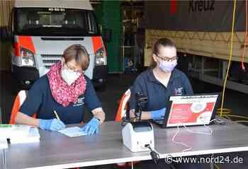 Corona-Bürgertest beim Roten Kreuz in Zeven - Nord24