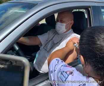 Itamaraju vacina mais de mil idosos em mais um drive thru - PrimeiroJornal