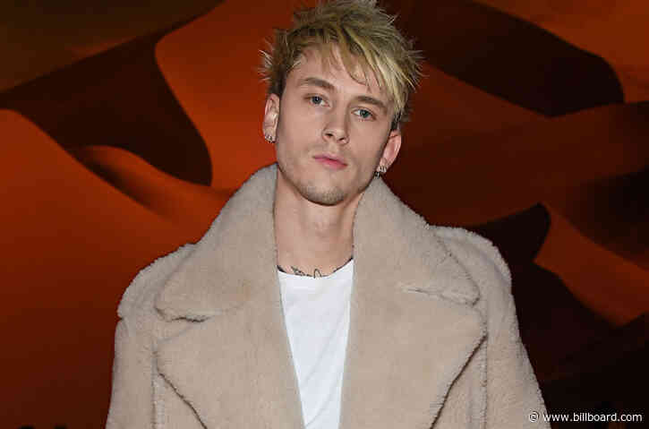 Machine Gun Kelly Shows Off Gruesome Razor-Sharp Neck Tattoo