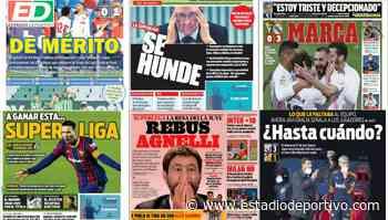 Sevilla y Madrid aprietan, Florentino resiste, Gracia en la picota... Así vienen las portadas de hoy - estadiodeportivo.com