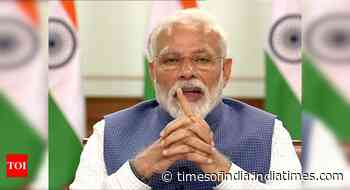 Coronavirus in India live updates: PM Modi to meet CMs, oxygen makers today - Times of India