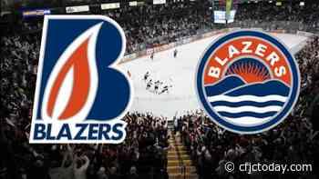 Levis, Blazers blast undisciplined Rockets - CFJC Today Kamloops