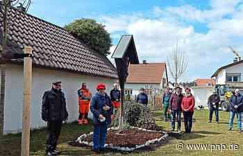 """Die ersten """"Patenbäume"""" sind gepflanzt - Garching an der Alz - Passauer Neue Presse"""
