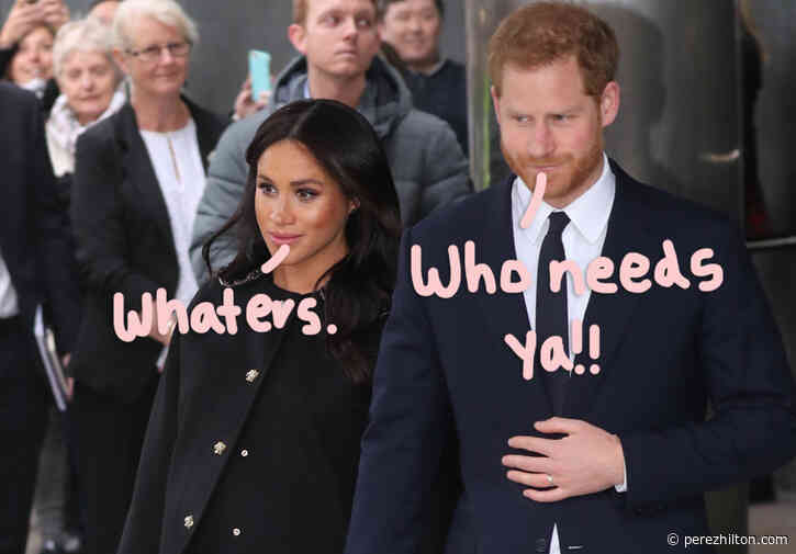 Buckingham Palace Reportedly Feels 'Much Calmer' Since Meghan & Harry Quit Being Senior Royals!