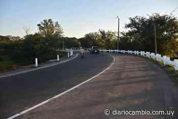 Intendencia mejoró infraestructura en puente Los Algarrobos de zona portuaria | Diario Cambio - Diario Cambio