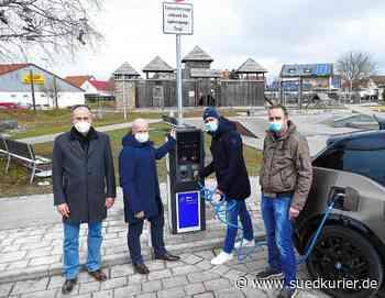 Zwei neuen E-Ladesäulen in Stetten am kalten Markt installiert | SÜDKURIER Online - SÜDKURIER Online