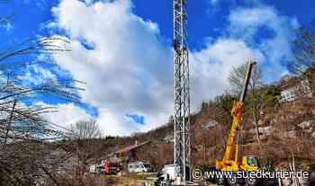 Mobilfunkmast beseitigt endlich das Funkloch in Storzingen | SÜDKURIER Online - SÜDKURIER Online
