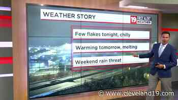 Northeast Ohio weather: Light lake effect snow overnight, rain returns on Saturday - Cleveland 19 News