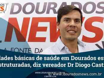 Unidades básicas de saúde em Dourados estão desestruturadas, diz vereador Diogo Castilho - Dourados News