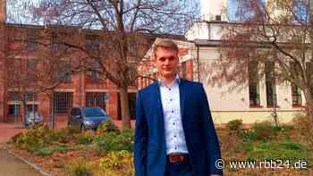 Guben hat einen 21-jährigen Wirtschaftsförderer, einen der jüngsten in Deutschland - rbb24